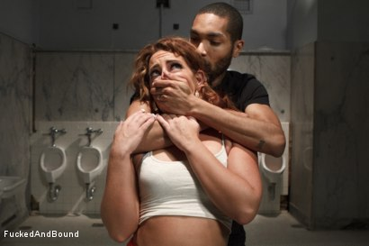 Photo number 1 from Bathroom Squirter shot for Fucked and Bound on Kink.com. Featuring Savannah Fox and Mickey Mod in hardcore BDSM & Fetish porn.