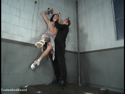 Photo number 1 from Mika And Her Dinner Date shot for Brutal Sessions on Kink.com. Featuring Brandon Iron and Mika Tan in hardcore BDSM & Fetish porn.