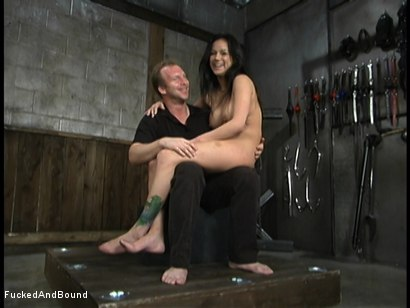 Photo number 14 from Horse Whipping Nadia shot for  on Kink.com. Featuring Nadia Styles and Brandon Iron in hardcore BDSM & Fetish porn.
