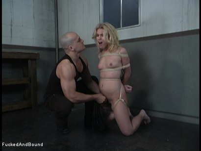 Photo number 3 from Small Bitch Huge Cock shot for  on Kink.com. Featuring Ben English and Aubrey Addams in hardcore BDSM & Fetish porn.