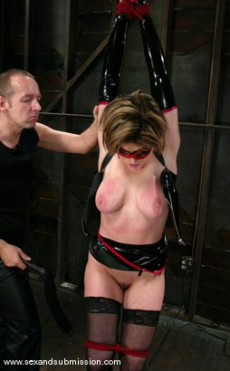 Photo number 2 from Chris Charming and Tyla Wynn shot for Sex And Submission on Kink.com. Featuring Chris Charming and Tyla Wynn in hardcore BDSM & Fetish porn.