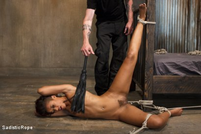 Photo number 5 from Penthouse Pet, Skin Diamond, is Devastated in Brutal Bondage  shot for Sadistic Rope on Kink.com. Featuring Skin Diamond in hardcore BDSM & Fetish porn.