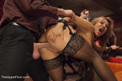 Photo number 7 from Anal Ava Devine Petitions the House shot for The Upper Floor on Kink.com. Featuring Ava Devine and Bill Bailey in hardcore BDSM & Fetish porn.