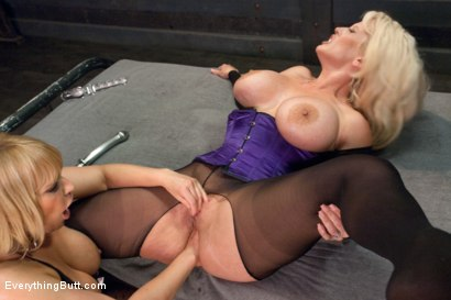 Photo number 7 from Busty Anal shot for Everything Butt on Kink.com. Featuring Alura Jenson and Mellanie Monroe in hardcore BDSM & Fetish porn.
