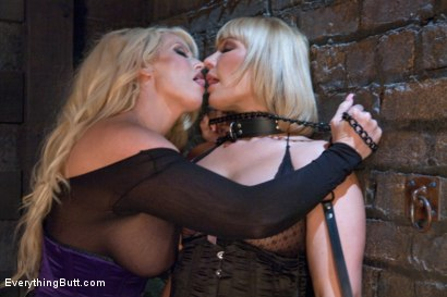 Photo number 3 from Busty Anal shot for Everything Butt on Kink.com. Featuring Alura Jenson and Mellanie Monroe in hardcore BDSM & Fetish porn.
