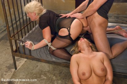 Photo number 9 from Sexual Ransom shot for Sex And Submission on Kink.com. Featuring Bill Bailey, Alura Jenson and Mellanie Monroe in hardcore BDSM & Fetish porn.