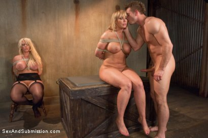 Photo number 10 from Sexual Ransom shot for Sex And Submission on Kink.com. Featuring Bill Bailey, Alura Jenson and Mellanie Monroe in hardcore BDSM & Fetish porn.