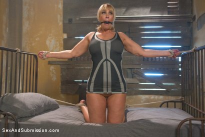 Photo number 4 from Sexual Ransom shot for Sex And Submission on Kink.com. Featuring Bill Bailey, Alura Jenson and Mellanie Monroe in hardcore BDSM & Fetish porn.