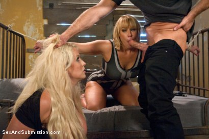 Photo number 5 from Sexual Ransom shot for Sex And Submission on Kink.com. Featuring Bill Bailey, Alura Jenson and Mellanie Monroe in hardcore BDSM & Fetish porn.