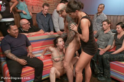 Photo number 9 from Everyone's favorite girl next door- ass pounded in public! shot for Public Disgrace on Kink.com. Featuring Casey Calvert , Astral Dust and Ariel X in hardcore BDSM & Fetish porn.