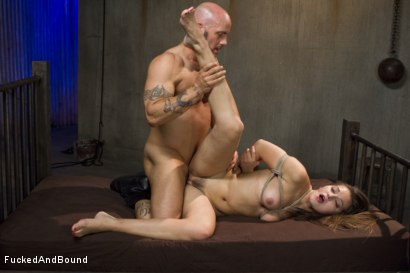 Photo number 13 from Unhappy Slut shot for  on Kink.com. Featuring Dani Daniels and Derrick Pierce in hardcore BDSM & Fetish porn.