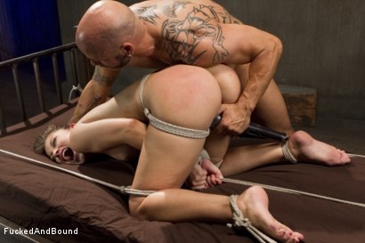Photo number 14 from Unhappy Slut shot for  on Kink.com. Featuring Dani Daniels and Derrick Pierce in hardcore BDSM & Fetish porn.