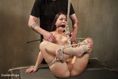 Photo number 2 from The Submission of a Brat shot for Sadistic Rope on Kink.com. Featuring Serena Blair in hardcore BDSM & Fetish porn.