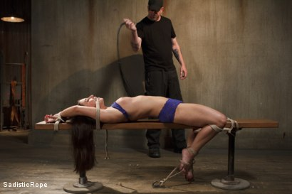 Photo number 4 from The Submission of a Brat shot for Sadistic Rope on Kink.com. Featuring Serena Blair in hardcore BDSM & Fetish porn.
