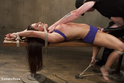 Photo number 6 from The Submission of a Brat shot for Sadistic Rope on Kink.com. Featuring Serena Blair in hardcore BDSM & Fetish porn.