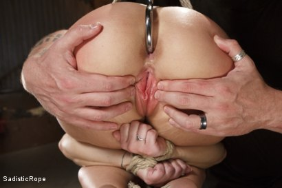 Photo number 7 from The Submission of a Brat shot for Sadistic Rope on Kink.com. Featuring Serena Blair in hardcore BDSM & Fetish porn.