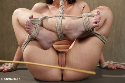 Photo number 14 from The Submission of a Brat shot for Sadistic Rope on Kink.com. Featuring Serena Blair in hardcore BDSM & Fetish porn.