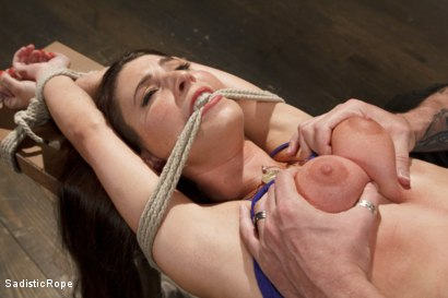 Photo number 5 from The Submission of a Brat shot for Sadistic Rope on Kink.com. Featuring Serena Blair in hardcore BDSM & Fetish porn.
