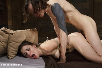 Photo number 12 from Cock Hungry Slut Gets Fucked Into Oblivion shot for  on Kink.com. Featuring Juliette March and Owen Gray in hardcore BDSM & Fetish porn.