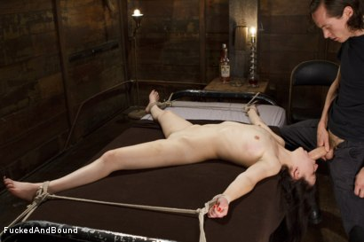 Photo number 1 from Cock Hungry Slut Gets Fucked Into Oblivion shot for  on Kink.com. Featuring Juliette March and Owen Gray in hardcore BDSM & Fetish porn.
