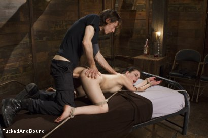 Photo number 5 from Cock Hungry Slut Gets Fucked Into Oblivion shot for  on Kink.com. Featuring Juliette March and Owen Gray in hardcore BDSM & Fetish porn.