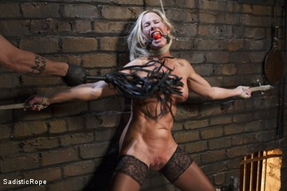 Photo number 2 from Masochistic MILF  shot for Sadistic Rope on Kink.com. Featuring Simone Sonay in hardcore BDSM & Fetish porn.