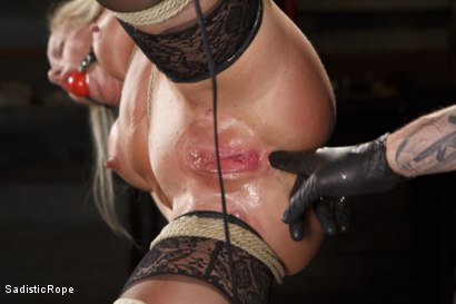Photo number 8 from Masochistic MILF  shot for Sadistic Rope on Kink.com. Featuring Simone Sonay in hardcore BDSM & Fetish porn.