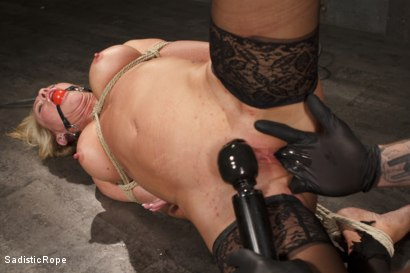 Photo number 10 from Masochistic MILF  shot for Sadistic Rope on Kink.com. Featuring Simone Sonay in hardcore BDSM & Fetish porn.