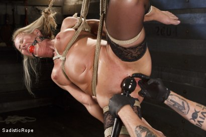 Photo number 14 from Masochistic MILF  shot for Sadistic Rope on Kink.com. Featuring Simone Sonay in hardcore BDSM & Fetish porn.