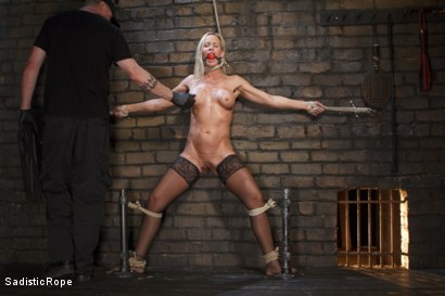 Photo number 1 from Masochistic MILF  shot for Sadistic Rope on Kink.com. Featuring Simone Sonay in hardcore BDSM & Fetish porn.