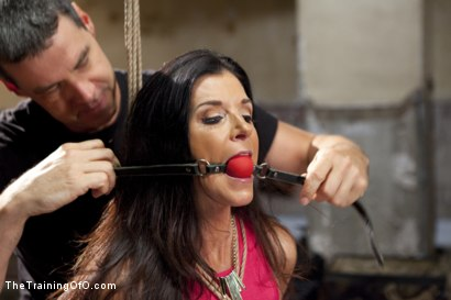 Photo number 2 from India Summer's Principles of Servitude, Day One shot for The Training Of O on Kink.com. Featuring India Summer and Cliff Adams in hardcore BDSM & Fetish porn.