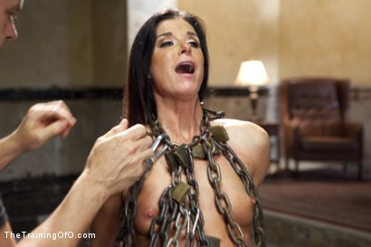 Photo number 12 from India Summer's Principles of Servitude, Day One shot for The Training Of O on Kink.com. Featuring India Summer and Cliff Adams in hardcore BDSM & Fetish porn.