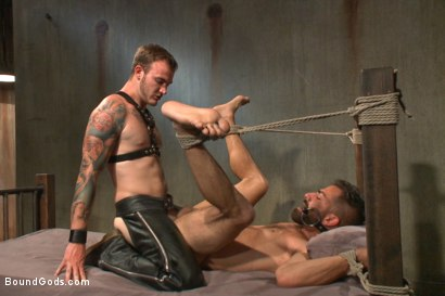 Photo number 10 from At his request, Mr Wilde breaks in a a new sub Adam Ramzi shot for Bound Gods on Kink.com. Featuring Christian Wilde and Adam Ramzi in hardcore BDSM & Fetish porn.