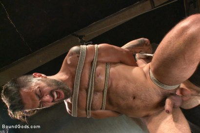 Photo number 6 from At his request, Mr Wilde breaks in a a new sub Adam Ramzi shot for Bound Gods on Kink.com. Featuring Christian Wilde and Adam Ramzi in hardcore BDSM & Fetish porn.