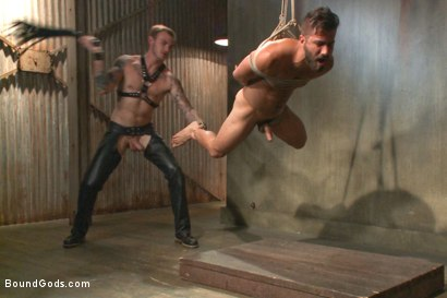 Photo number 5 from At his request, Mr Wilde breaks in a a new sub Adam Ramzi shot for Bound Gods on Kink.com. Featuring Christian Wilde and Adam Ramzi in hardcore BDSM & Fetish porn.