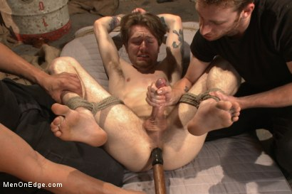 Photo number 12 from Stud taken from a straight porn shoot and made to suck cock shot for Men On Edge on Kink.com. Featuring Patrick Knight in hardcore BDSM & Fetish porn.