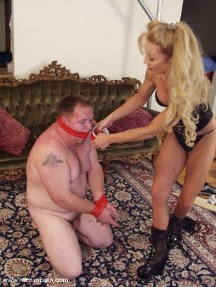 Photo number 10 from Jason Maclane and Janay shot for Men In Pain on Kink.com. Featuring Janay and Jason Maclane in hardcore BDSM & Fetish porn.