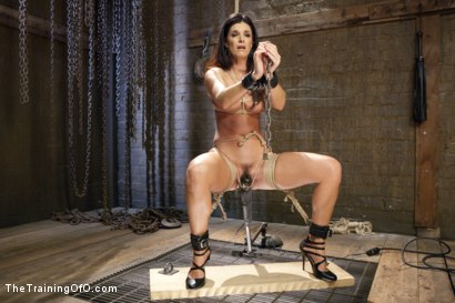 Photo number 2 from India Summer's Principles of Servitude, Day Three shot for The Training Of O on Kink.com. Featuring India Summer and Cliff Adams in hardcore BDSM & Fetish porn.