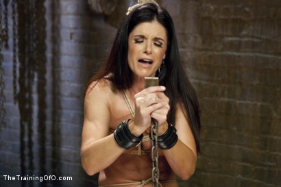 Photo number 3 from India Summer's Principles of Servitude, Day Three shot for The Training Of O on Kink.com. Featuring India Summer and Cliff Adams in hardcore BDSM & Fetish porn.