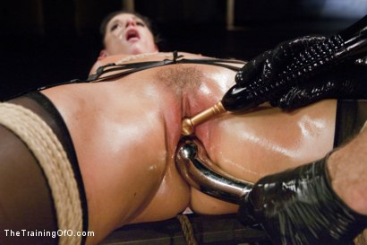 Photo number 9 from The Principles of Anal Servitude, Final Day shot for The Training Of O on Kink.com. Featuring Owen Gray and India Summer in hardcore BDSM & Fetish porn.