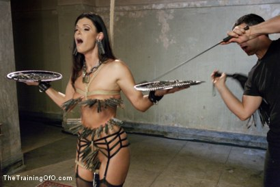 Photo number 5 from The Principles of Anal Servitude, Final Day shot for The Training Of O on Kink.com. Featuring Owen Gray and India Summer in hardcore BDSM & Fetish porn.