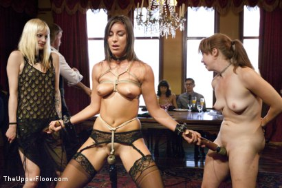 Photo number 3 from The Slave Petition of Rilynn Rae shot for The Upper Floor on Kink.com. Featuring John Strong, Rilynn Rae and Casey Calvert in hardcore BDSM & Fetish porn.