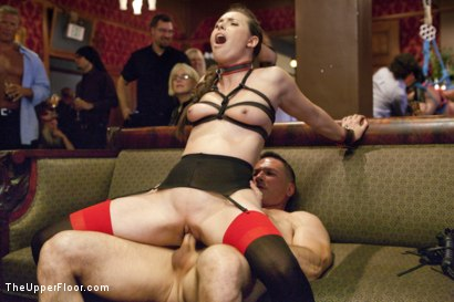 Photo number 6 from The Slave Petition of Rilynn Rae shot for The Upper Floor on Kink.com. Featuring John Strong, Rilynn Rae and Casey Calvert in hardcore BDSM & Fetish porn.