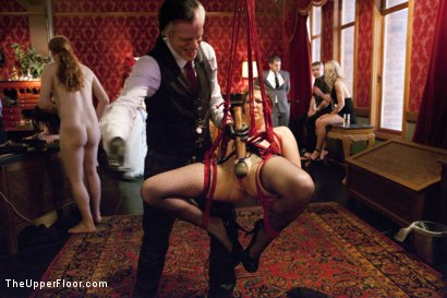 Photo number 9 from The Slave Petition of Rilynn Rae shot for The Upper Floor on Kink.com. Featuring John Strong, Rilynn Rae and Casey Calvert in hardcore BDSM & Fetish porn.