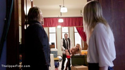 Photo number 2 from Loss of Control shot for The Upper Floor on Kink.com. Featuring Xander Corvus, Simone Sonay and Dakota James in hardcore BDSM & Fetish porn.