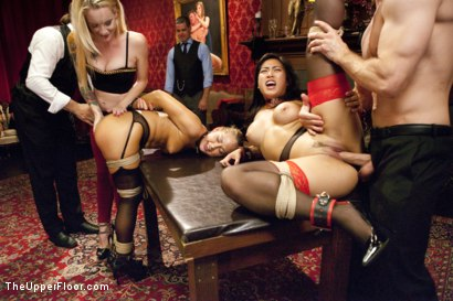 Photo number 9 from Dick Games shot for The Upper Floor on Kink.com. Featuring Bill Bailey, Carter Cruise and Mia Li in hardcore BDSM & Fetish porn.