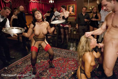Photo number 1 from Dick Games shot for The Upper Floor on Kink.com. Featuring Bill Bailey, Carter Cruise and Mia Li in hardcore BDSM & Fetish porn.