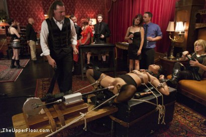 Photo number 5 from Veruca's Toy shot for The Upper Floor on Kink.com. Featuring Karlo Karrera, Veruca James and Angelina Chung in hardcore BDSM & Fetish porn.