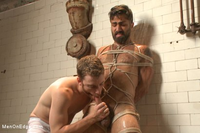 Photo number 14 from Super Hunk Adam Ramzi shot for Men On Edge on Kink.com. Featuring Adam Ramzi in hardcore BDSM & Fetish porn.