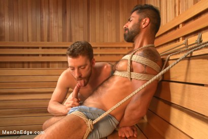 Photo number 4 from Super Hunk Adam Ramzi shot for Men On Edge on Kink.com. Featuring Adam Ramzi in hardcore BDSM & Fetish porn.